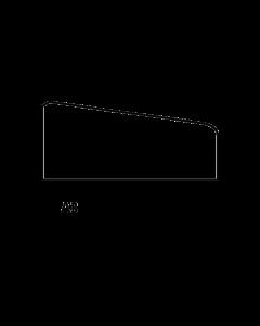 Glaslat A3 17x33 mm