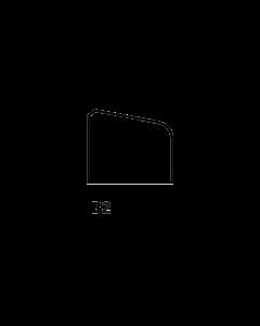 Glaslat B2 9x19 mm
