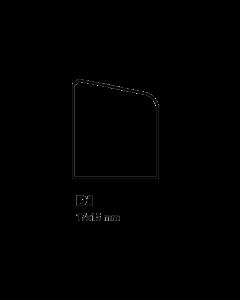 Glaslat D1 17x15 mm