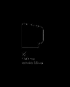 Glaslat E1 17x15 mm