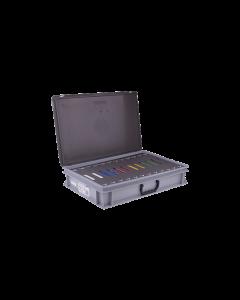 Gluske starterskoffer beglazingsblokjes
